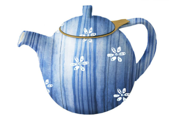 Tea Kettle Blue