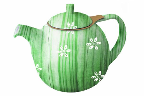 Tea Kettle Emerald