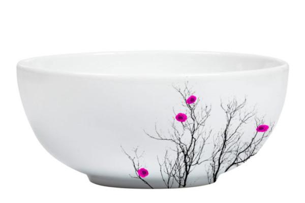 Fuchsia Bowl