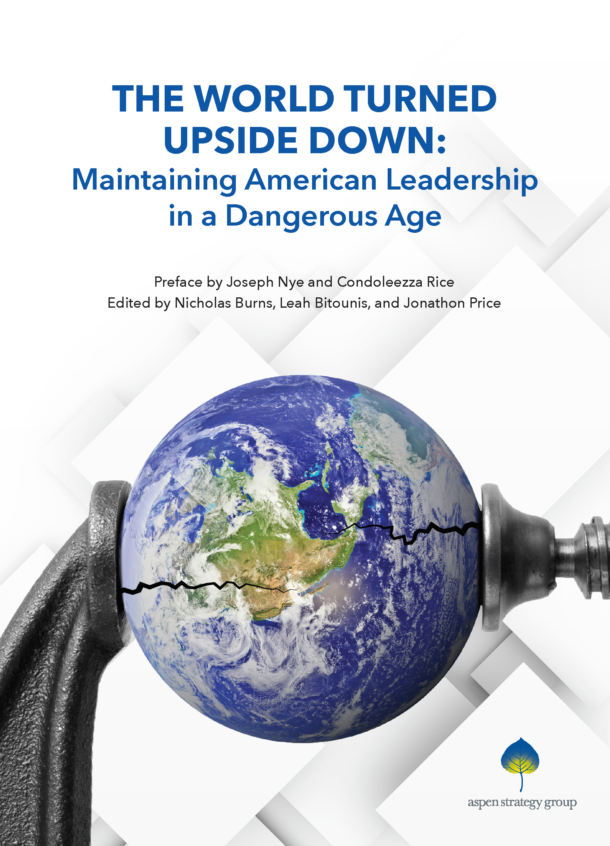 The World Turned Upside Down - In 2017, the Aspen Strategy Group examined the future of the liberal world order. The papers in this volume outline the history and importance the system of institutions and normative values that have underpinned the international system since the end of WWII. They also highlight some of the key threats to this order that have emerged over the past several years and endeavor to provide practical recommendations for meeting these challenges.Authors include: Madeleine K. Albright, Stephen E. Biegun, Richard Danzig, John Deutch, John Dowdy, Michèle A. Flournoy, Michael Froman, Stephen Hadley, Christopher Kirchhoff, Anja Manuel, Condoleezza Rice, Carla Anne Robbins, David E. Sanger, David Shambaugh, Dov S. Zakheim, and Philip Zelikow.Published: December 12, 2017