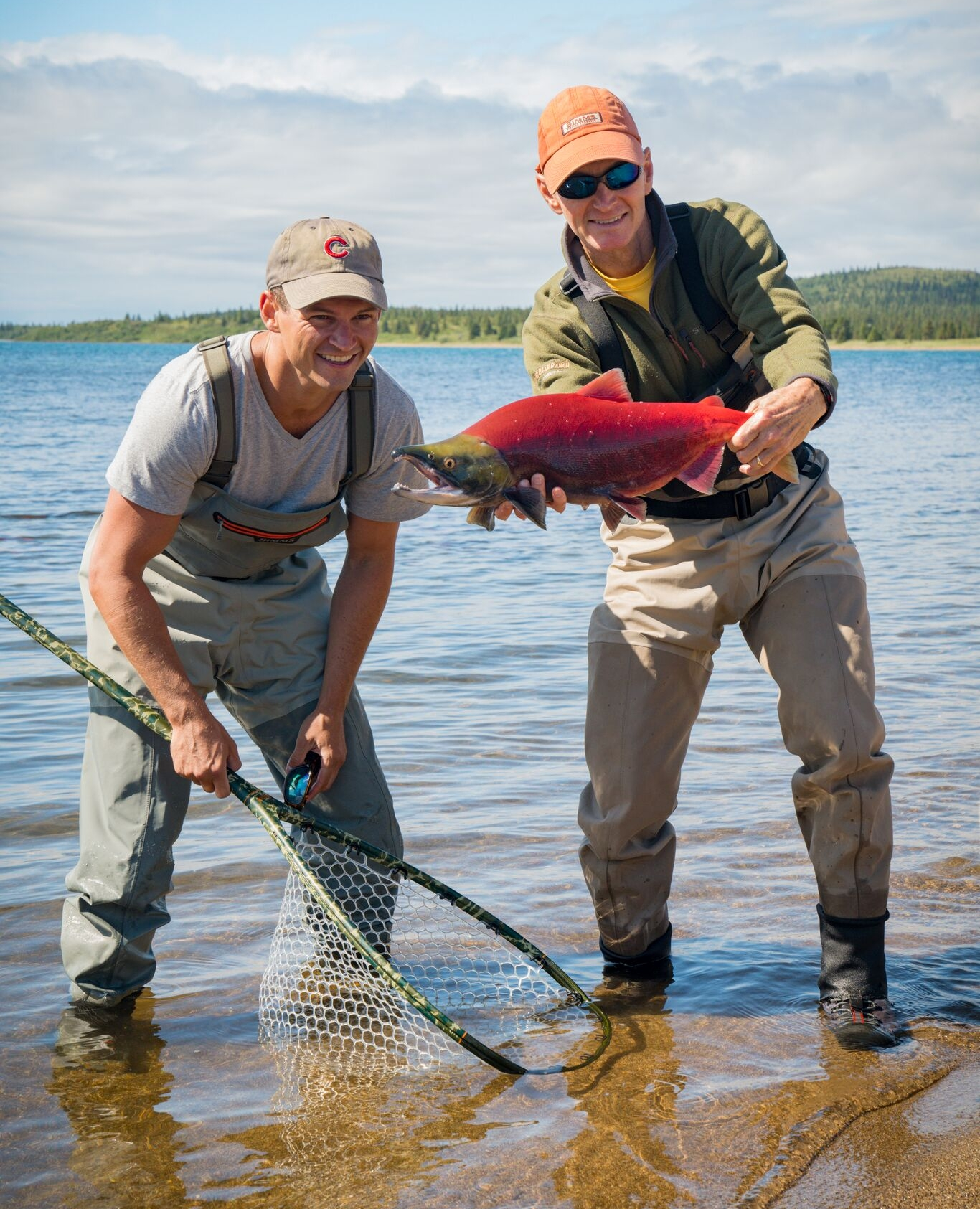 Sockeye/Reds - The most plentiful salmon species in our area. Best fishing is late June through early August.