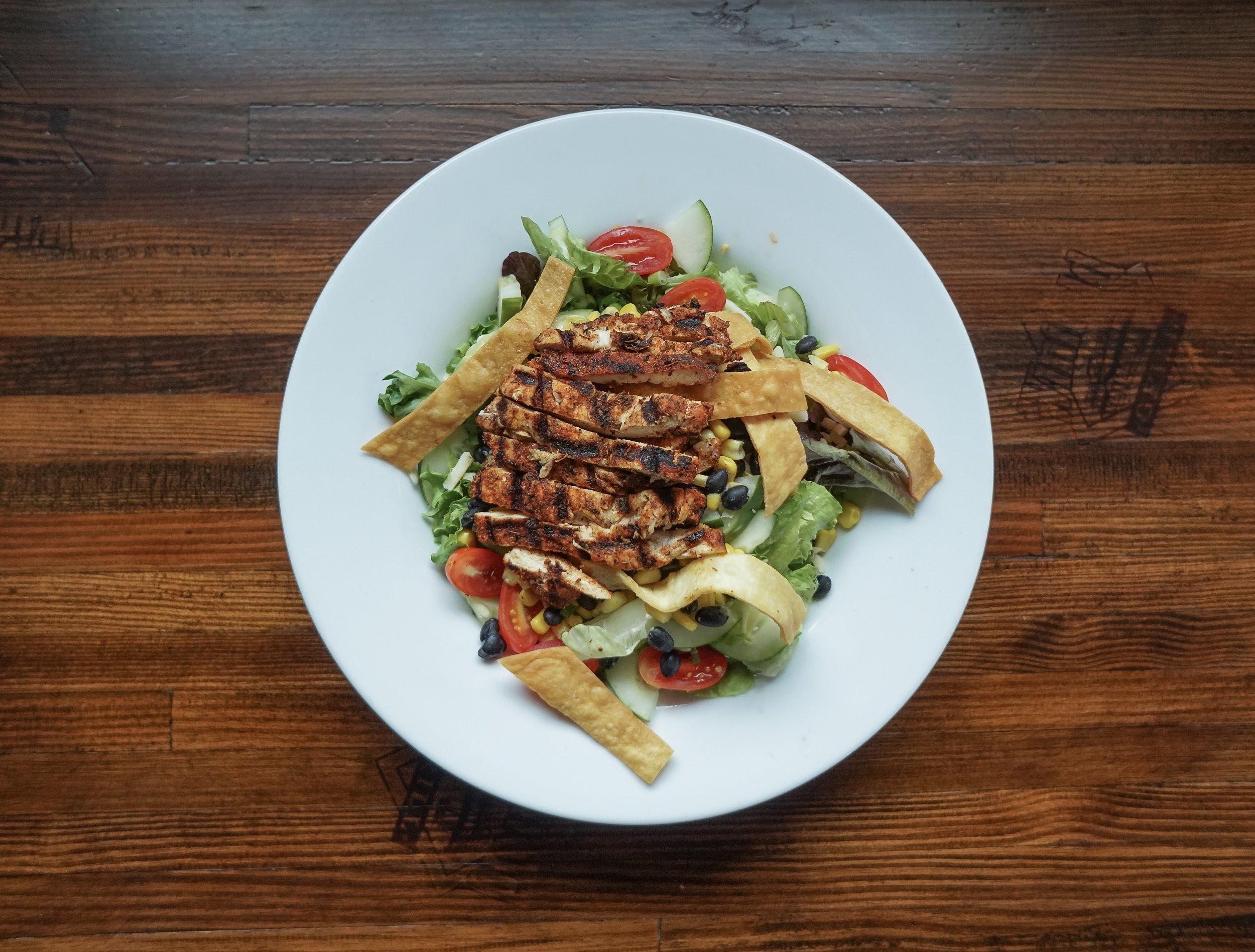 Cajun Fajita Salad from Winfield Grill