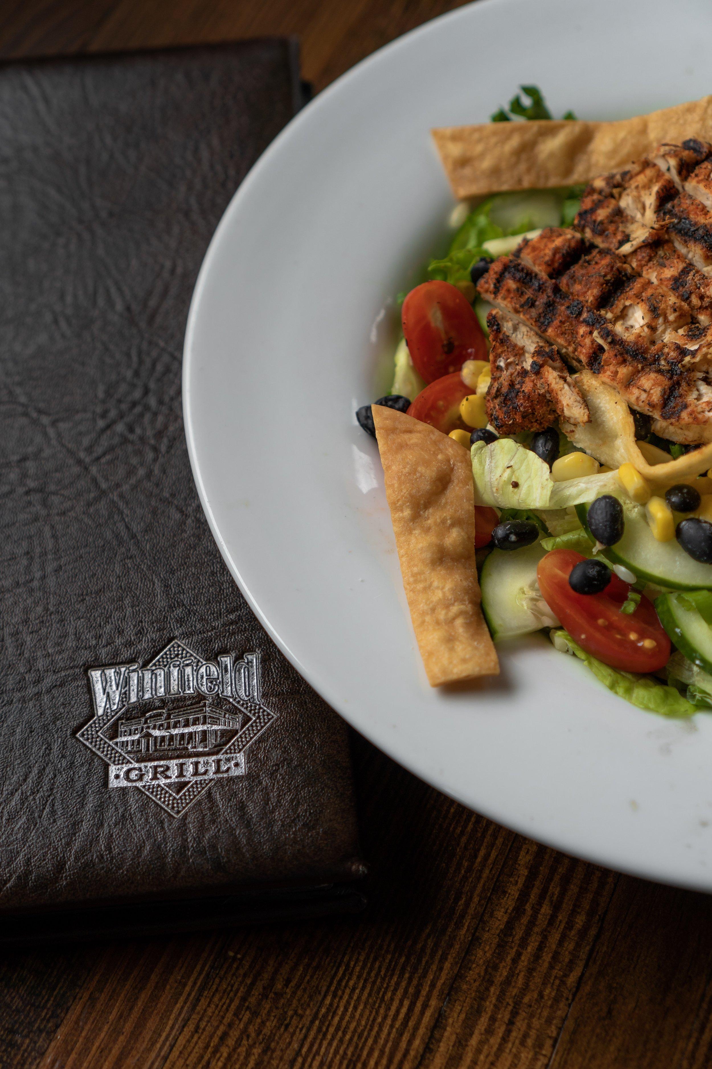 Winfield Grill's Cajun Fajita Salad
