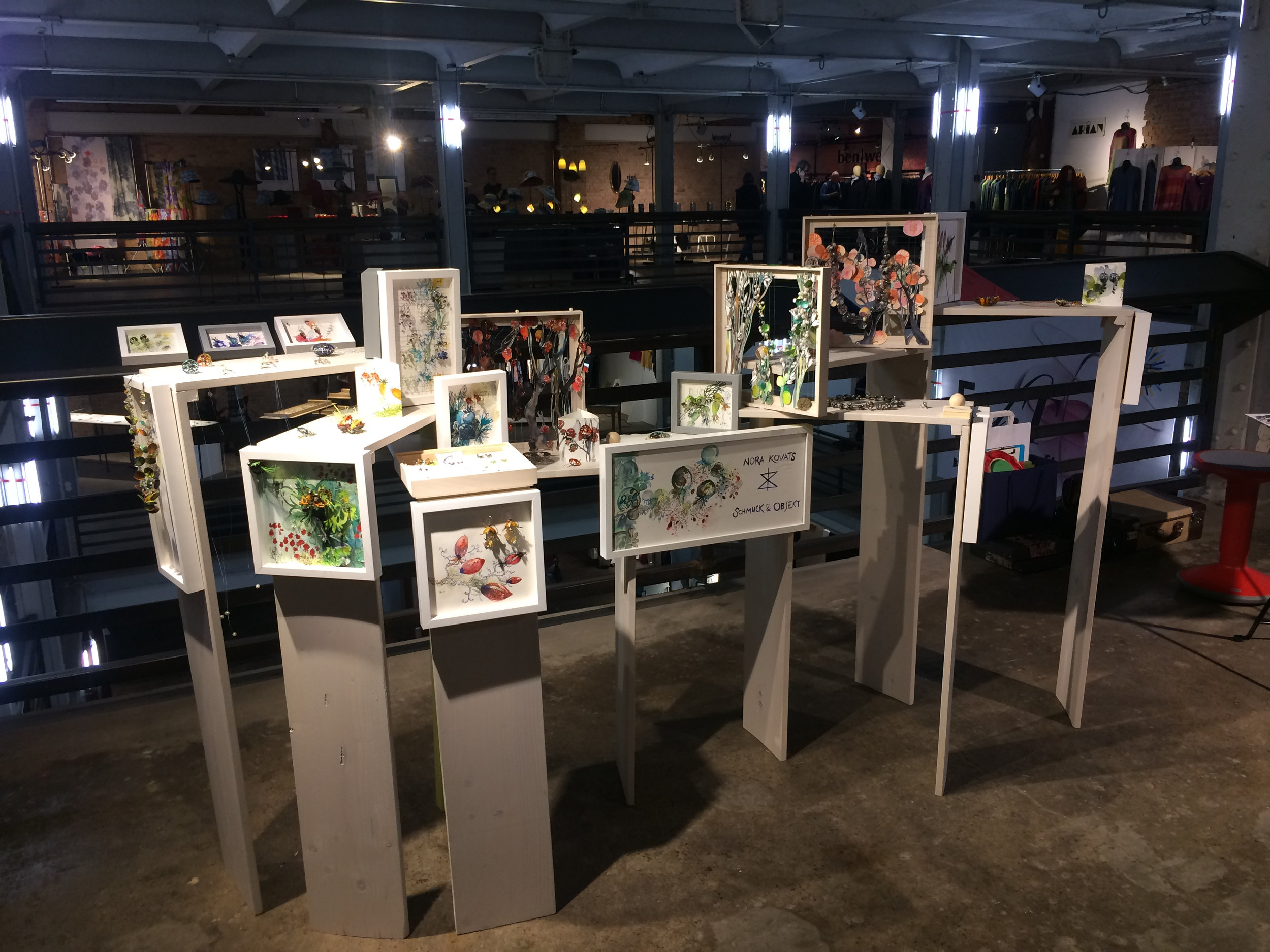 EchT Modern Craft show in April 2019.