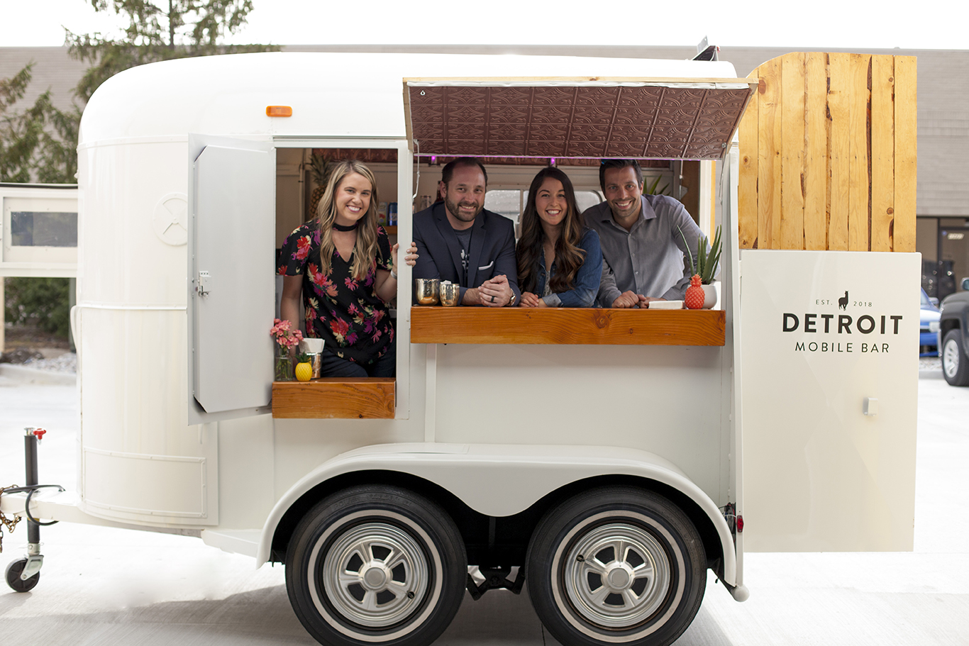 Detroit Mobile Bar at a Launch Party