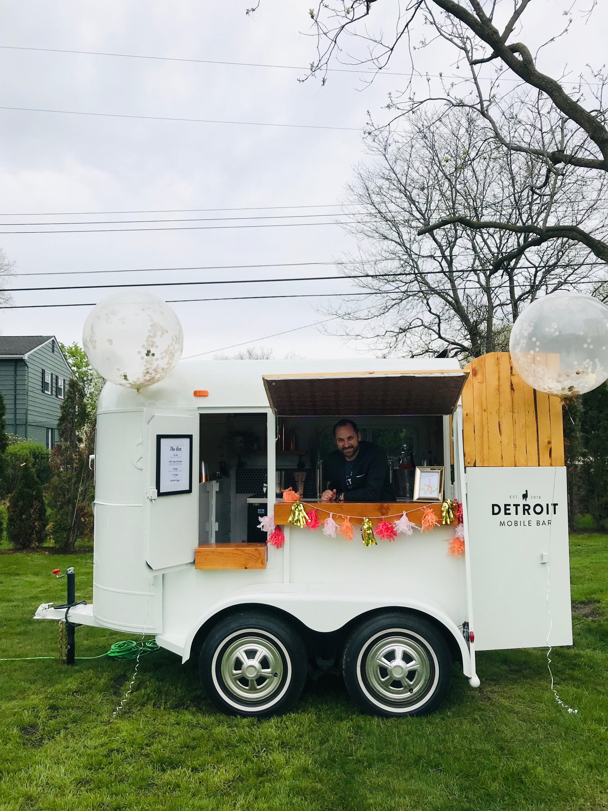 Detroit Mobile Bar at First Birthday