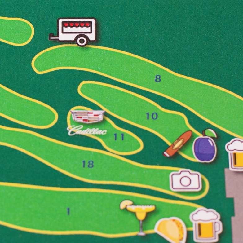 Charity Golf Outing Map