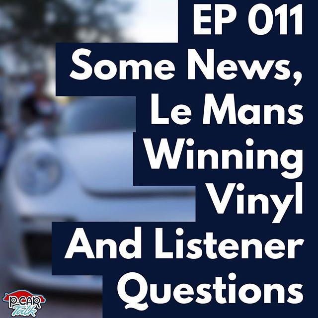 New Episode is out! Episode 11.  #pcartalk #newepisode #louder #questions #answers #lemans #vinyl #news