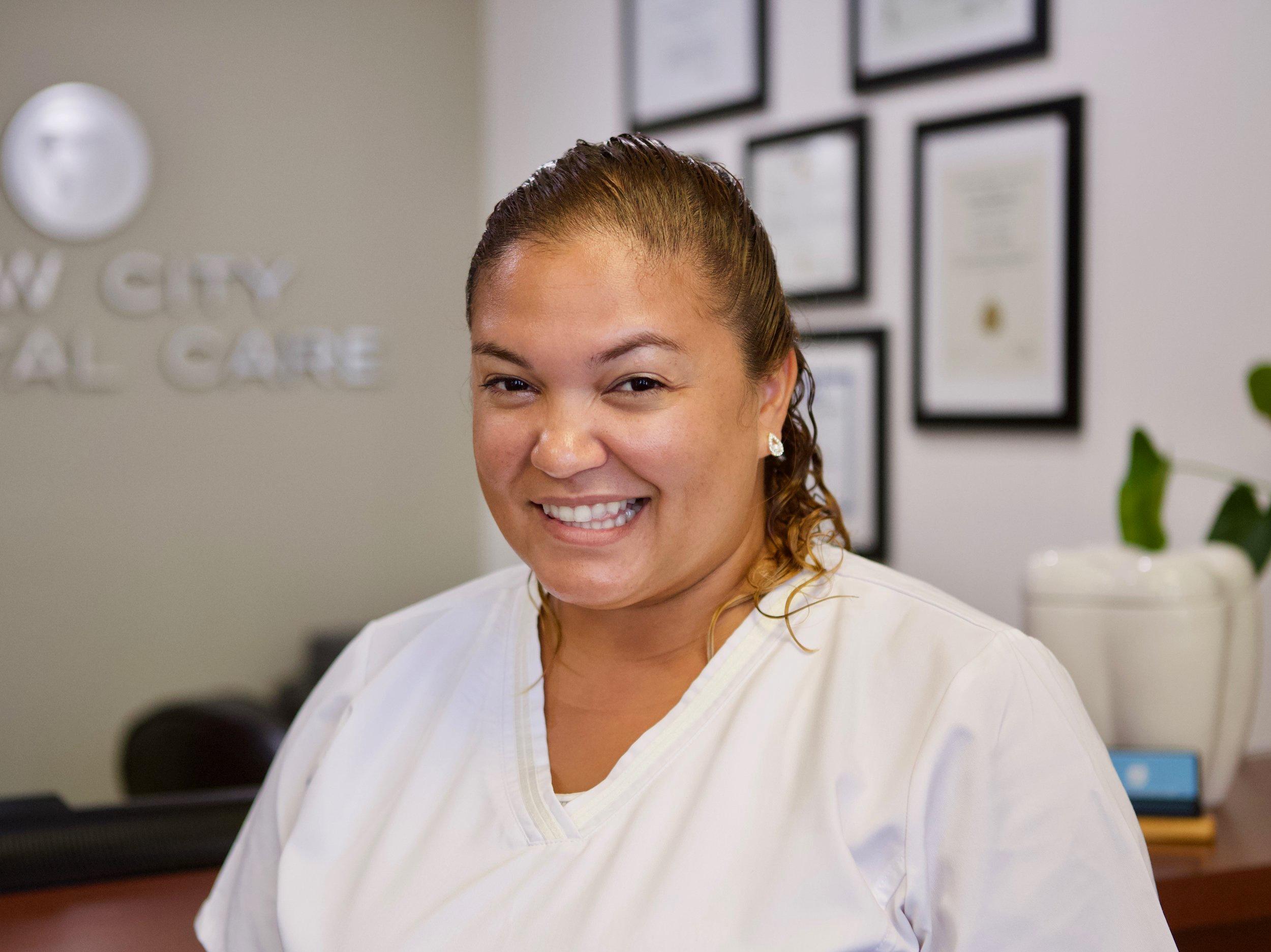 Wendy Hernandez, Dental Assistant   Full time staff