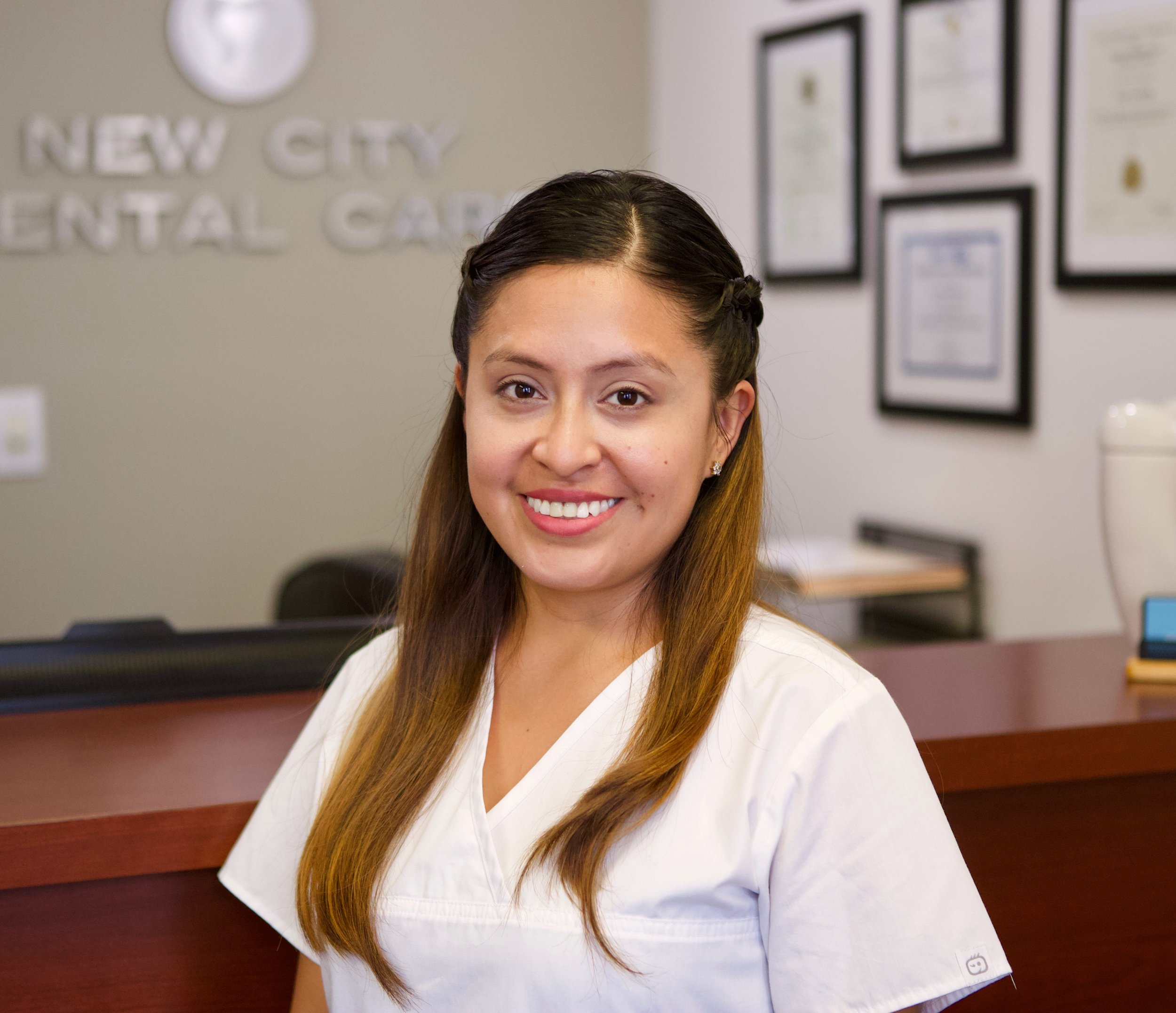 Jessica Sangurima, Office Manager   Full time staff