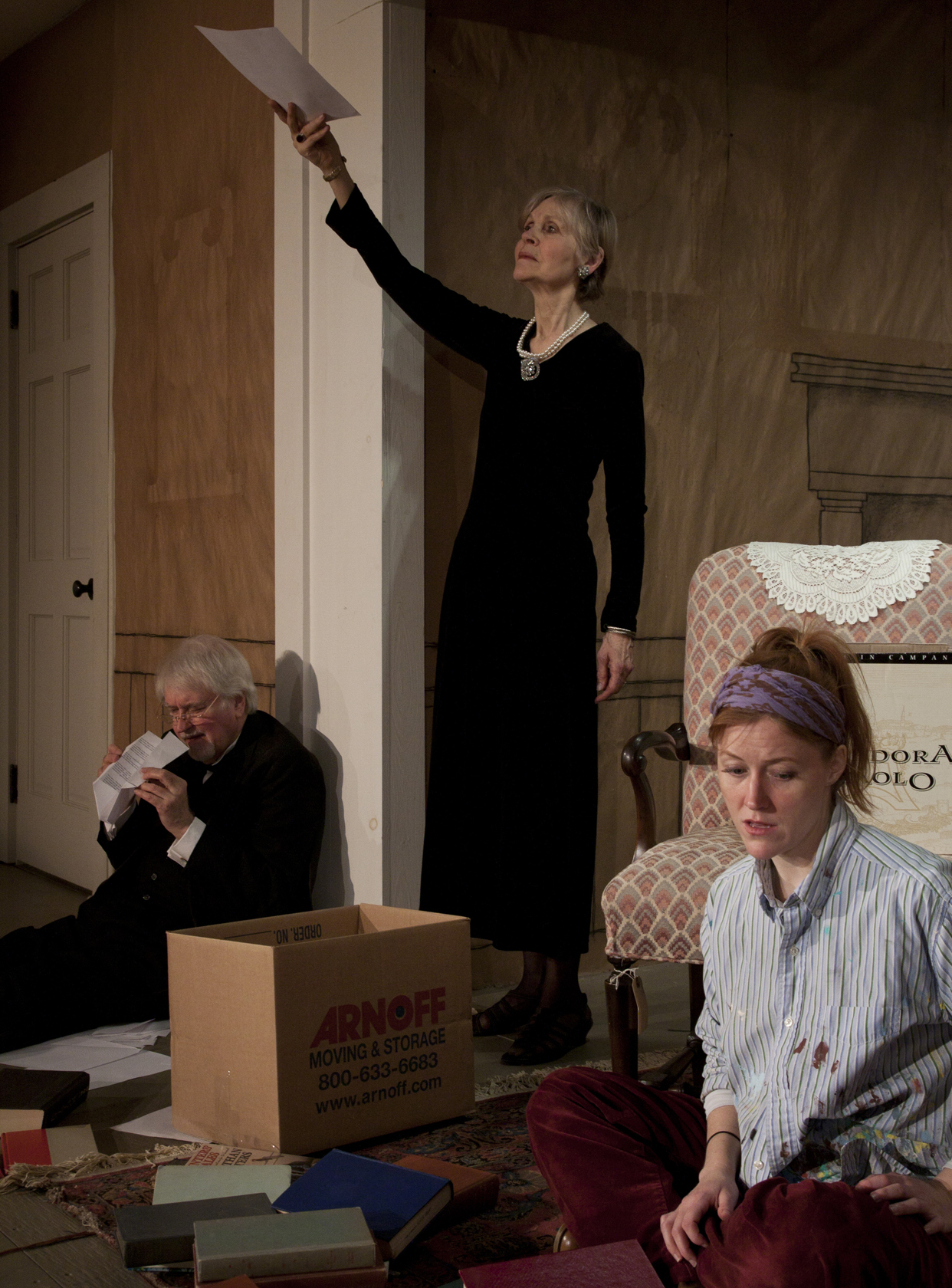Painting Churches - Written by Tina Howe, performed by Ted Pugh, Fern Sloan, and Sandra Struthers, and was a co-production with Walking the Dog, directed by David Anderson.