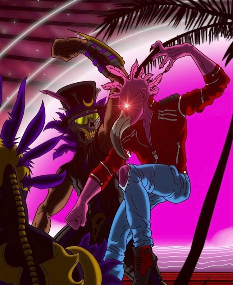 DOMINGO VS NIGHT MARCHER