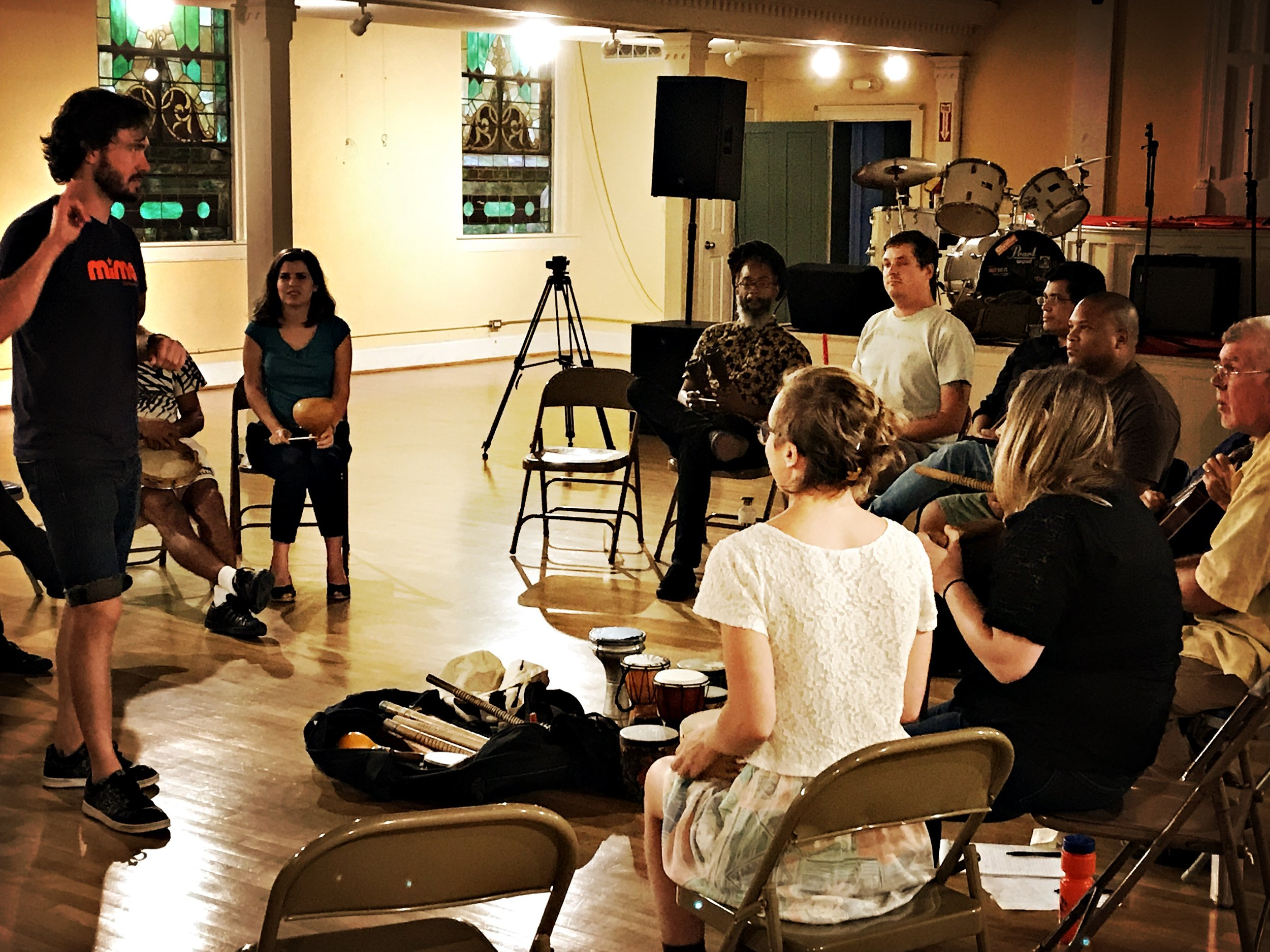 MIMA Music 2019 Teacher TrainingJan 26-27 @ Music Resource Center - Participants of the upcoming workshop will experience the MIMA Method and learn the basic principles of delivering the Method in MIMA classrooms. As such, the workshop is primarily intended for those interested in working as paid MIMA Teaching Artists. It may also be of interest to educators in the arts looking to expand their pedagogical repertoire and musicians interested in learning new approaches to collaborative songwriting. For everyone, we promise an engaging musical experience and the opportunity to meet like-minded creative folks.
