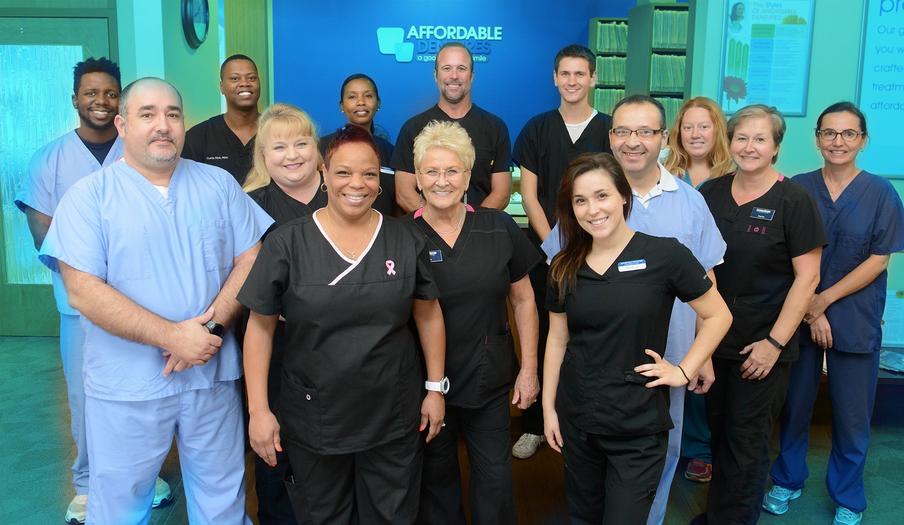 Dr. Hackney and the Affordable Dentures Team.png