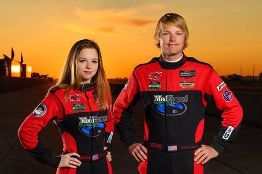 Aurora Straus and Connor Bloum (photo credit: Wes Duenkel)