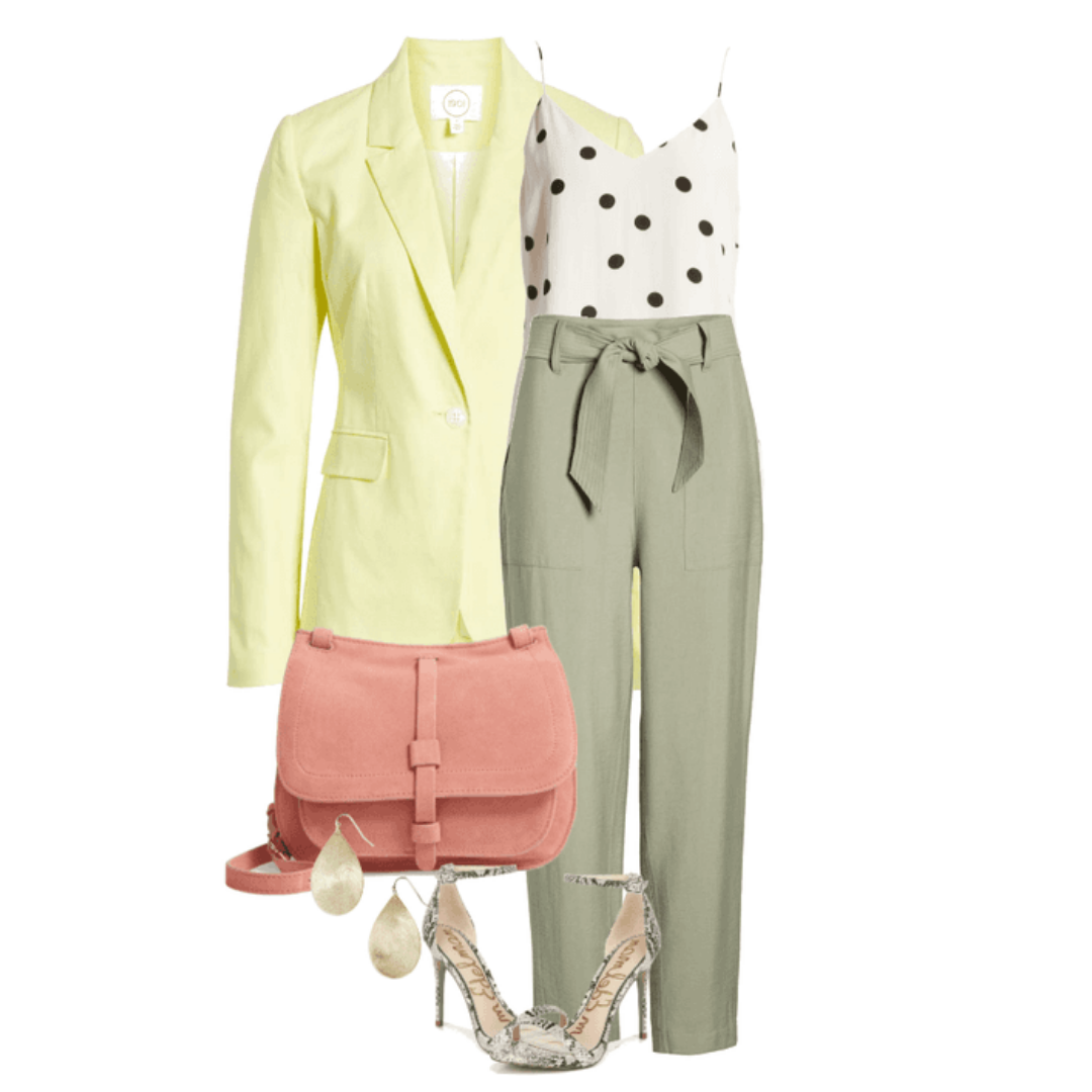 Live In Color-Summer Thing - First day of summer calls for fun colors and light fashion.
