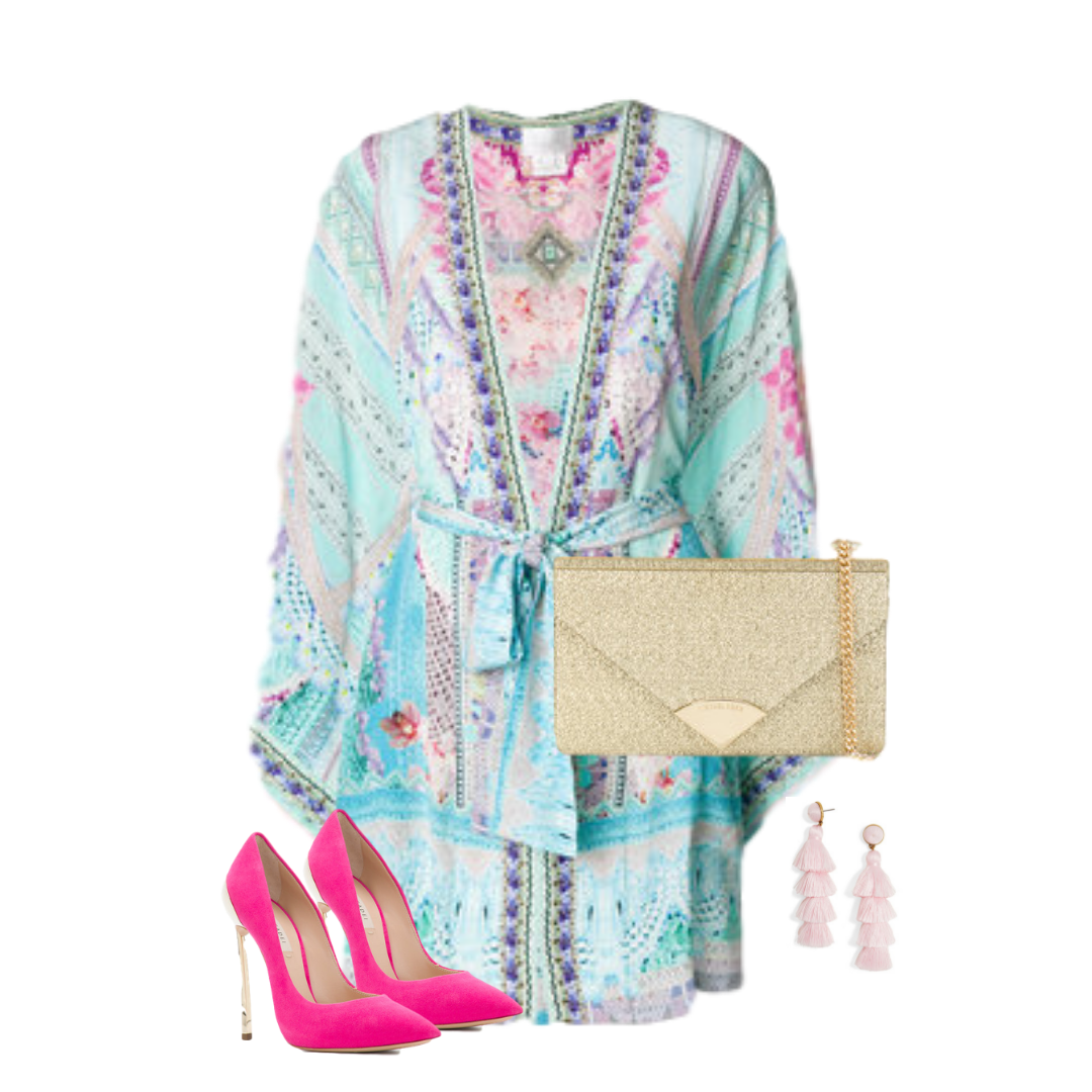 Kimono Style! - Not only are these perfect for the beach, they can be worn as a wrap dress or cover up.