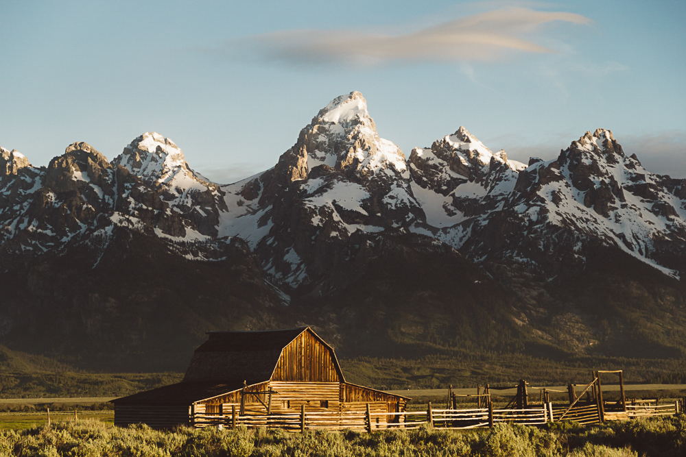 The Grand Tetons. Photo by Mike Jones