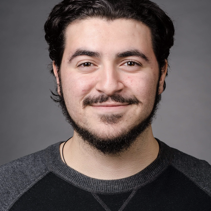Michael Giordano - CARLO  Michael Giordano is twenty years old and is a graduate of the acting for camera and voice program at Seneca. He loves entertaining people and bringing a smile on someone's face.