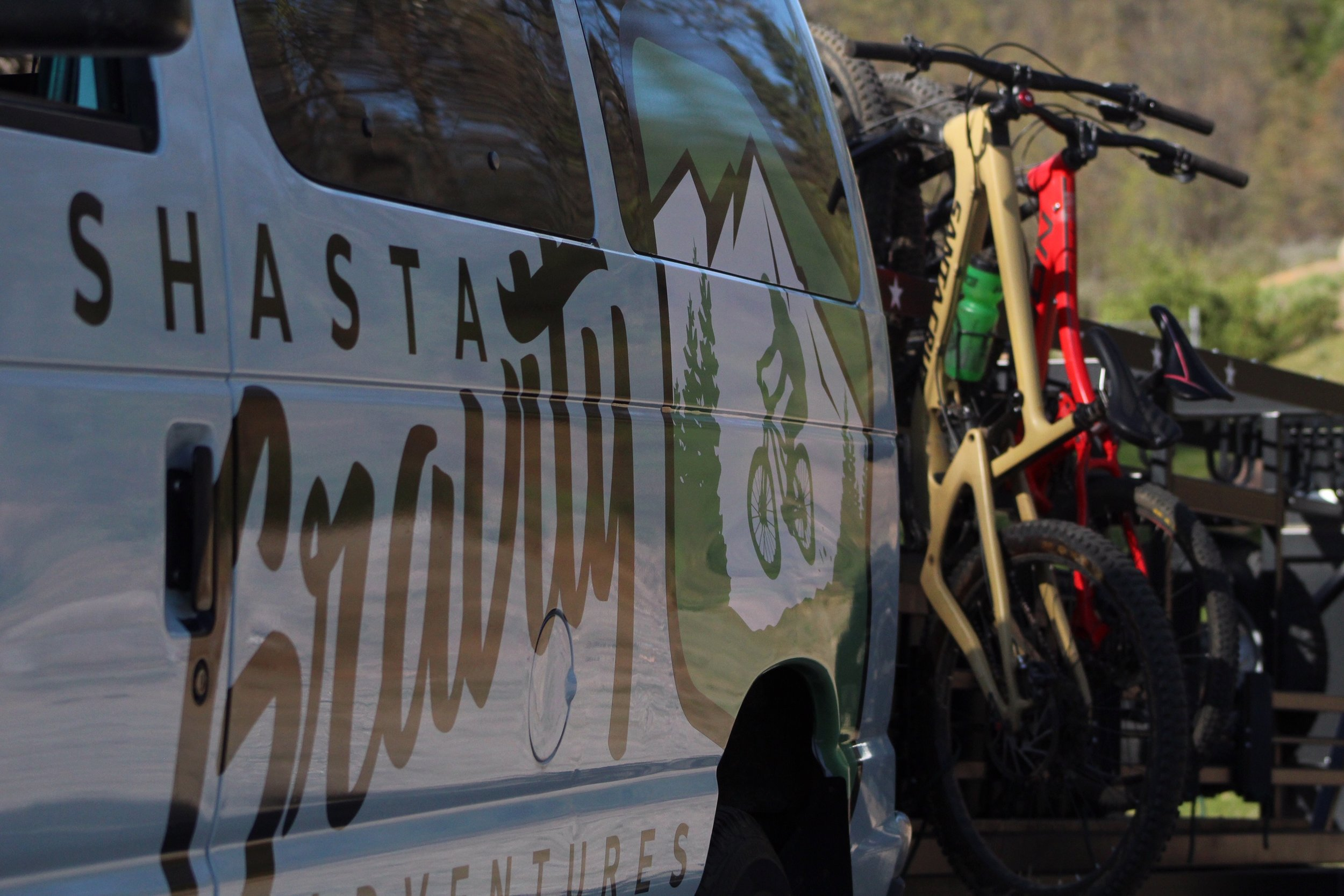 Shasta Gravity Shuttles - The Cure For The Common Ride