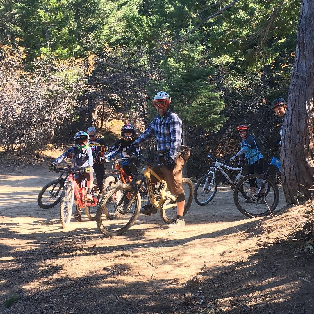 Christian Birch - Christian has been mountain biking for 30+ years and started the first mountain bike club at Westmont College in Santa Barbara in 1991. He developed the mountain bike program at Kidder Creek Camp in Scott Valley, Ca and designed/built the 12 mile trail network currently in place. Christian has been BICP certified for 2 years and has taught at multiple local mountain bike camps and clinics.