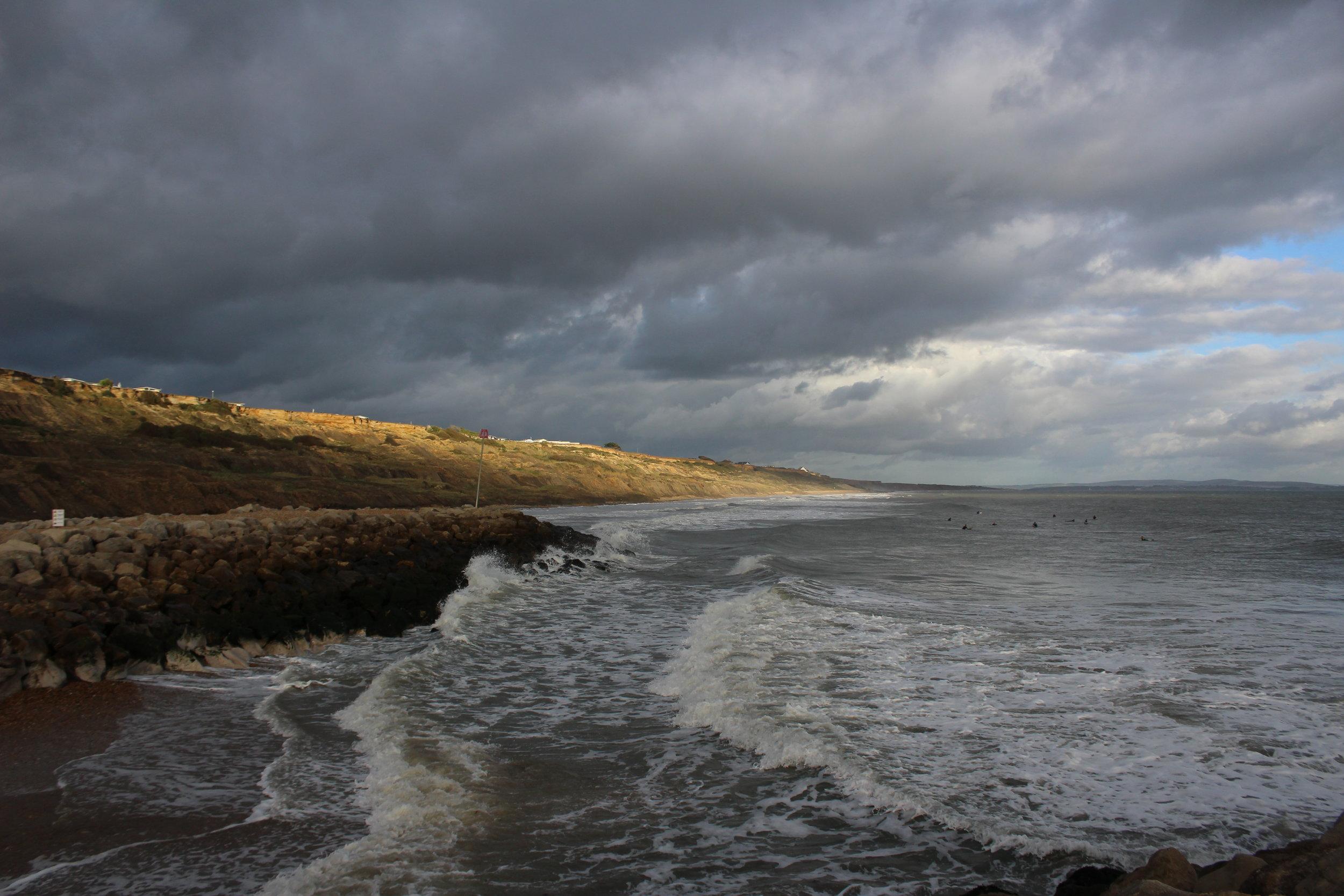 dramatic skies ocean beach england.JPG