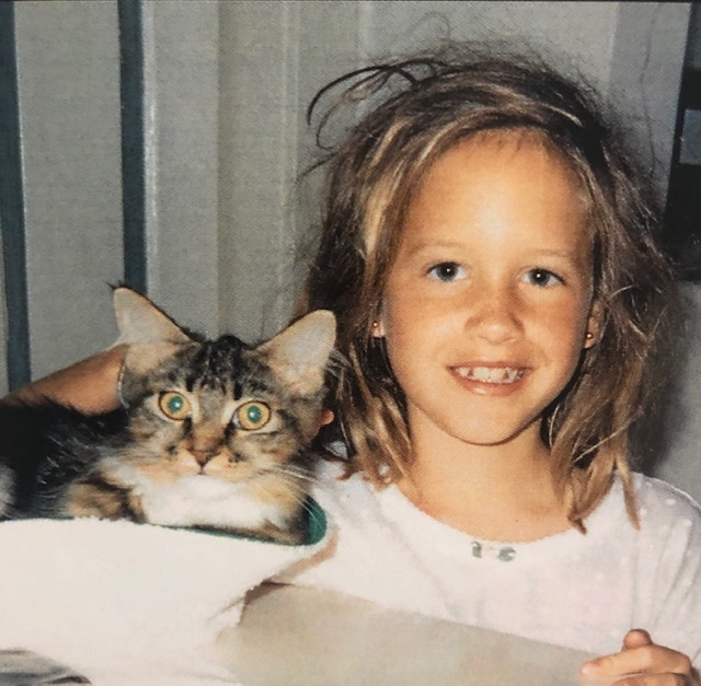 I now have a different cat, straighter teeth, and longer hair, but little else has changed.