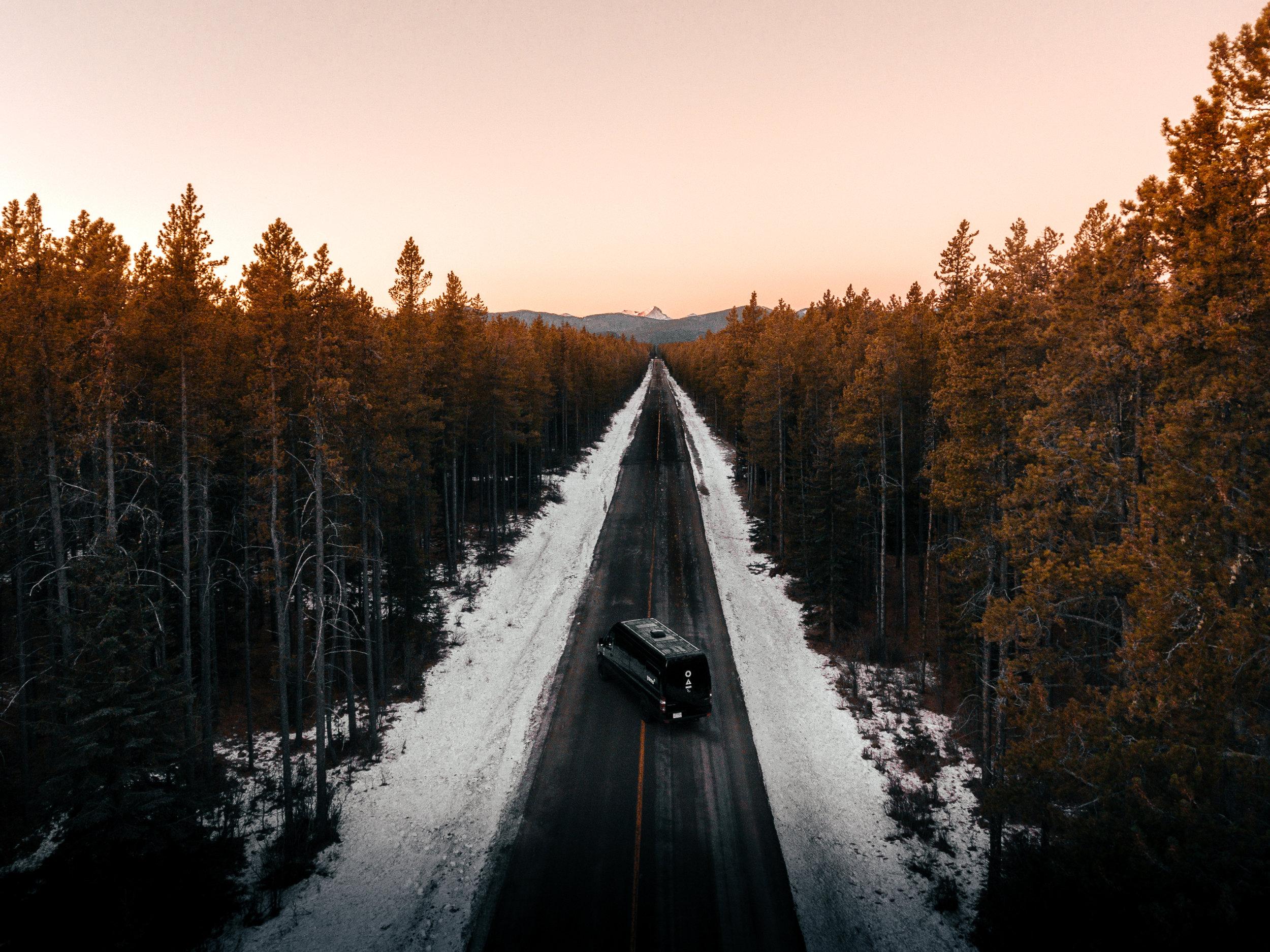 sunrise campervan