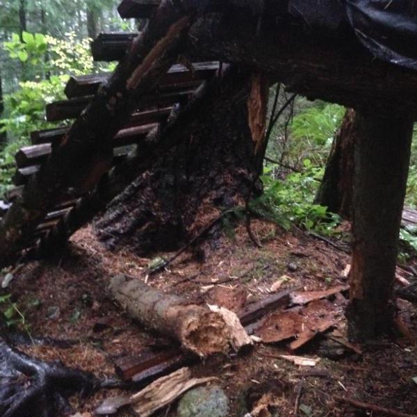 Rotten A-Frame on John Deer