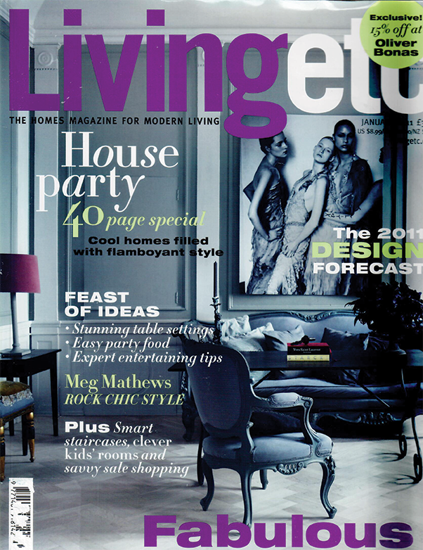 LIVING ETC.  January 2011 |  House of the Month  Pages: 24-33