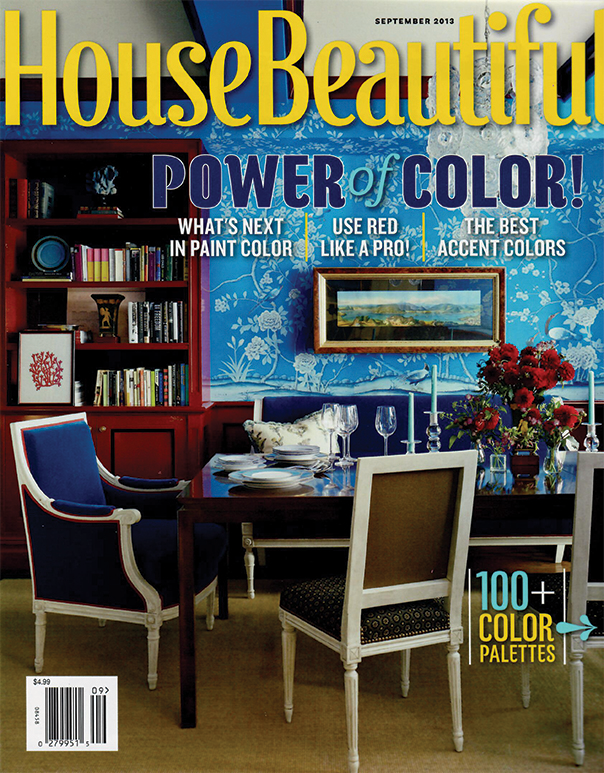 HOUSE BEAUTIFUL  September 2013 Pages: 74-83