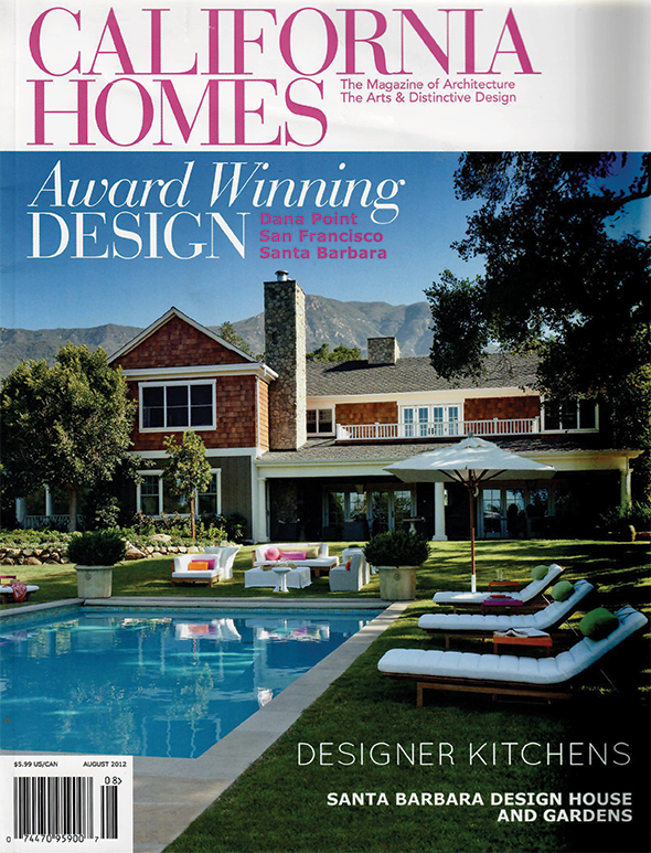 CALIFORNIA HOMES  August 2012 Pages: 82-83
