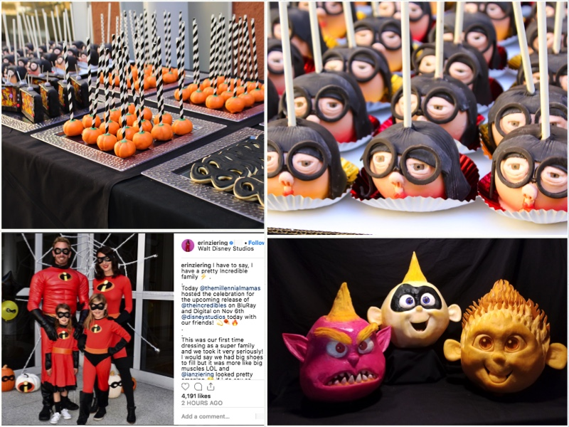 incredibles 2 - On behalf of Incredibles 2, we pulled together a fantastic assortment of talent to create engaging content across a variety of areas. From fruit carving and custom costumes to themed event food and spooktacular activity, content was shared across all elements of press and social media, garnering over 1 million impressions.