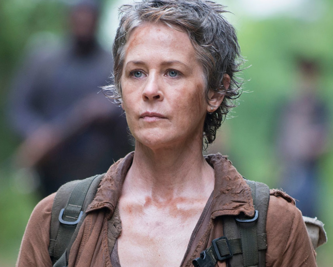 "BRIGID - Carol Peletier (""The Walking Dead."") – Carol's confidence, strengths and skills developed throughout the seasons to create one bad-ass zombie killing and civilian saving female!"