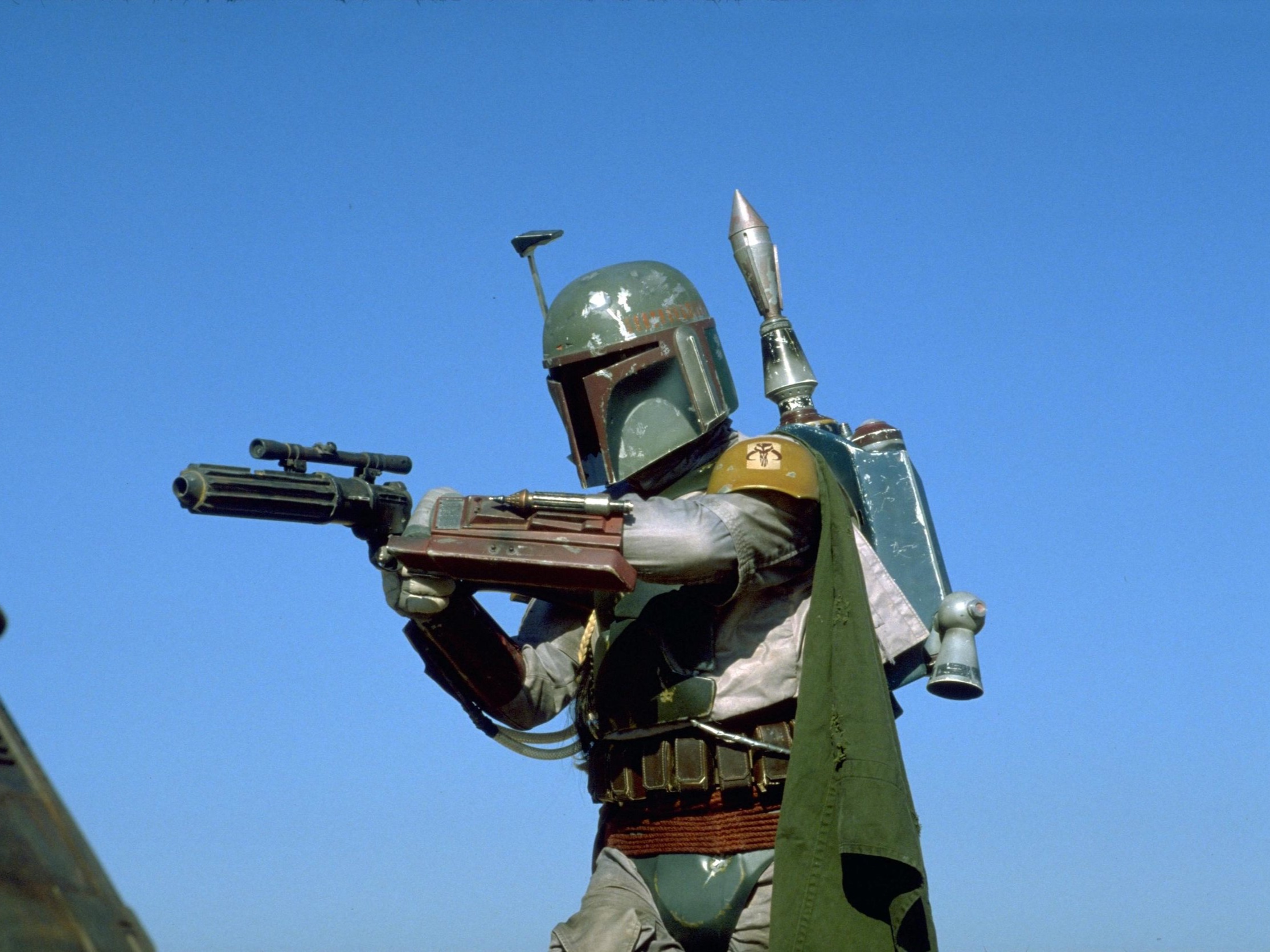 "MARIO - Boba Fett (Star Wars) – To this day he is still one of my favorite characters in the Star Wars universe. I remember rewinding his scenes as a kid and was upset he was ""killed"" by the Sarlacc. His armor and mannerisms are so unique, I would love to see him have his own movie on the big screen!"