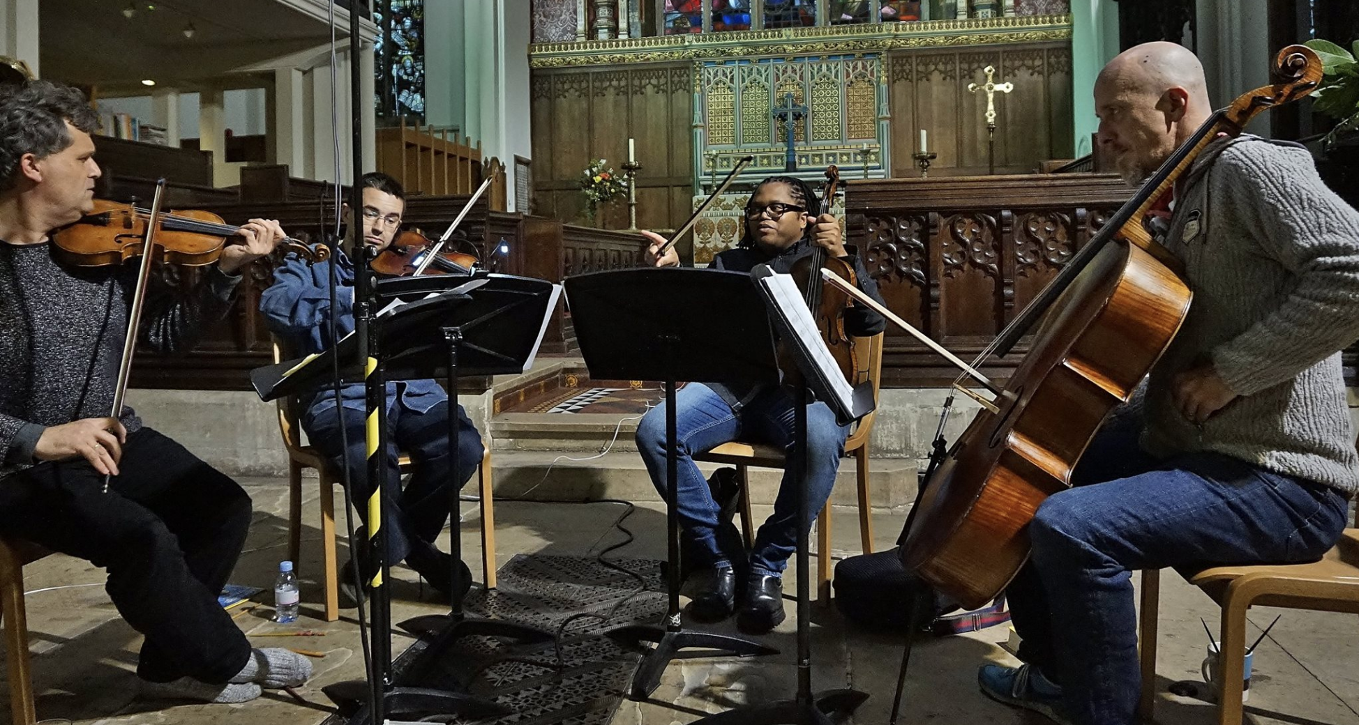 Kreutzer Quartet Recording