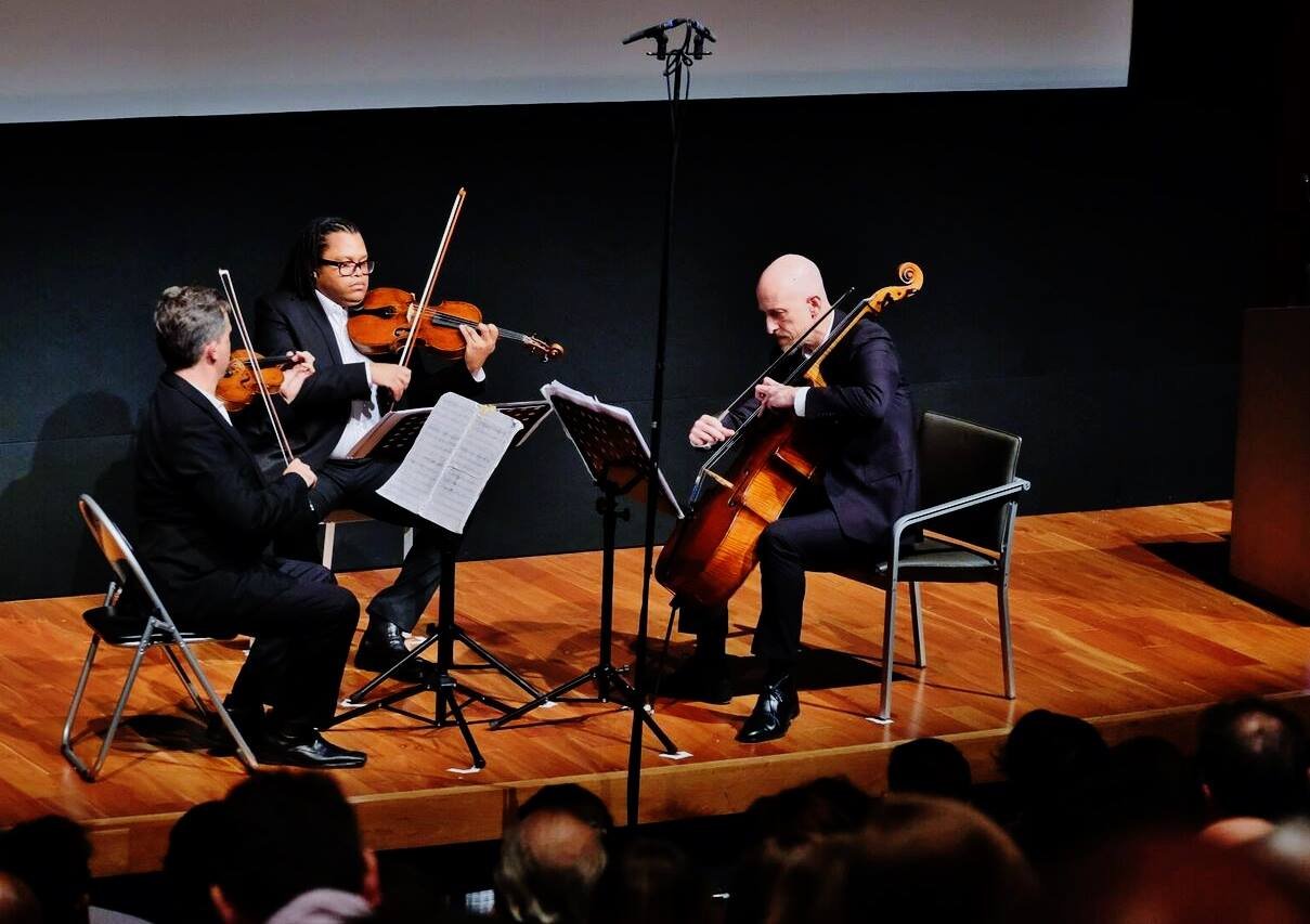 Kreutzer Quartet at BASCA British Composer Awards