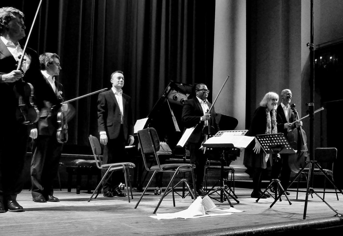 Kreutzer Quartet w/ Gloria Coates