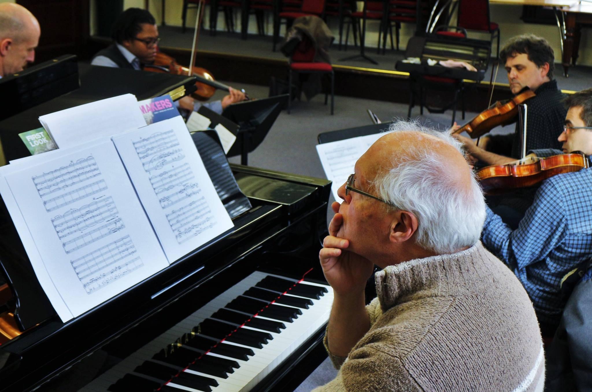 Kreutzer Quartet w/ Michael Finnissy