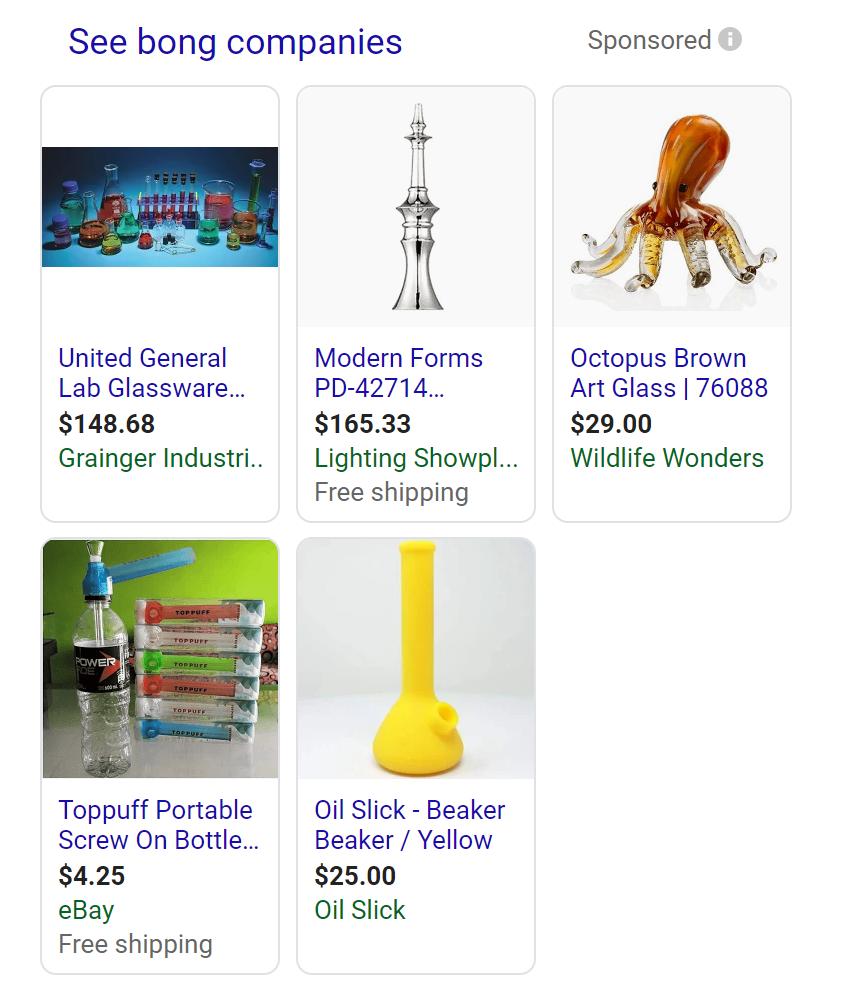 Cannabis Google Ads