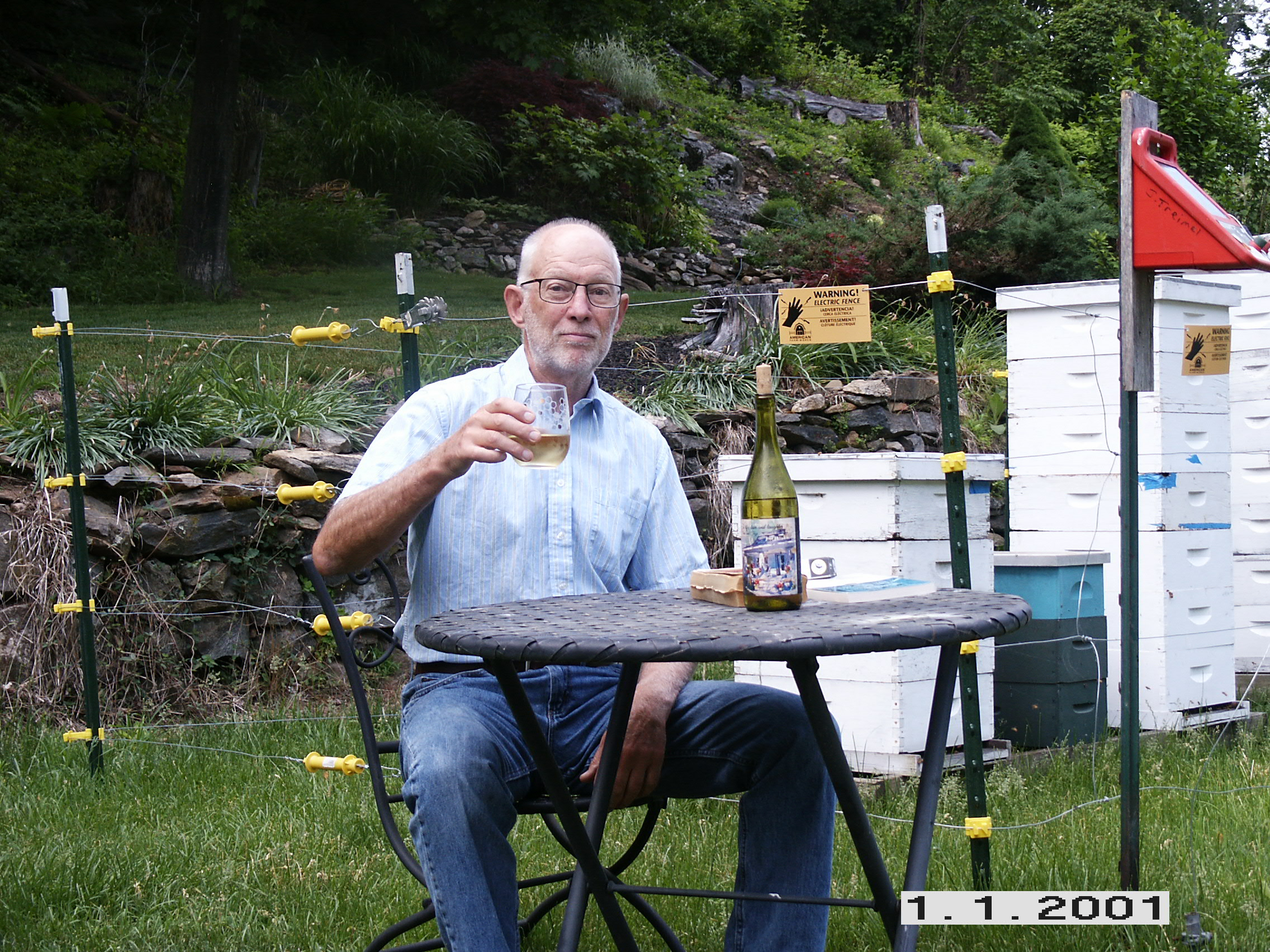 Joe Drinking Mead.JPG
