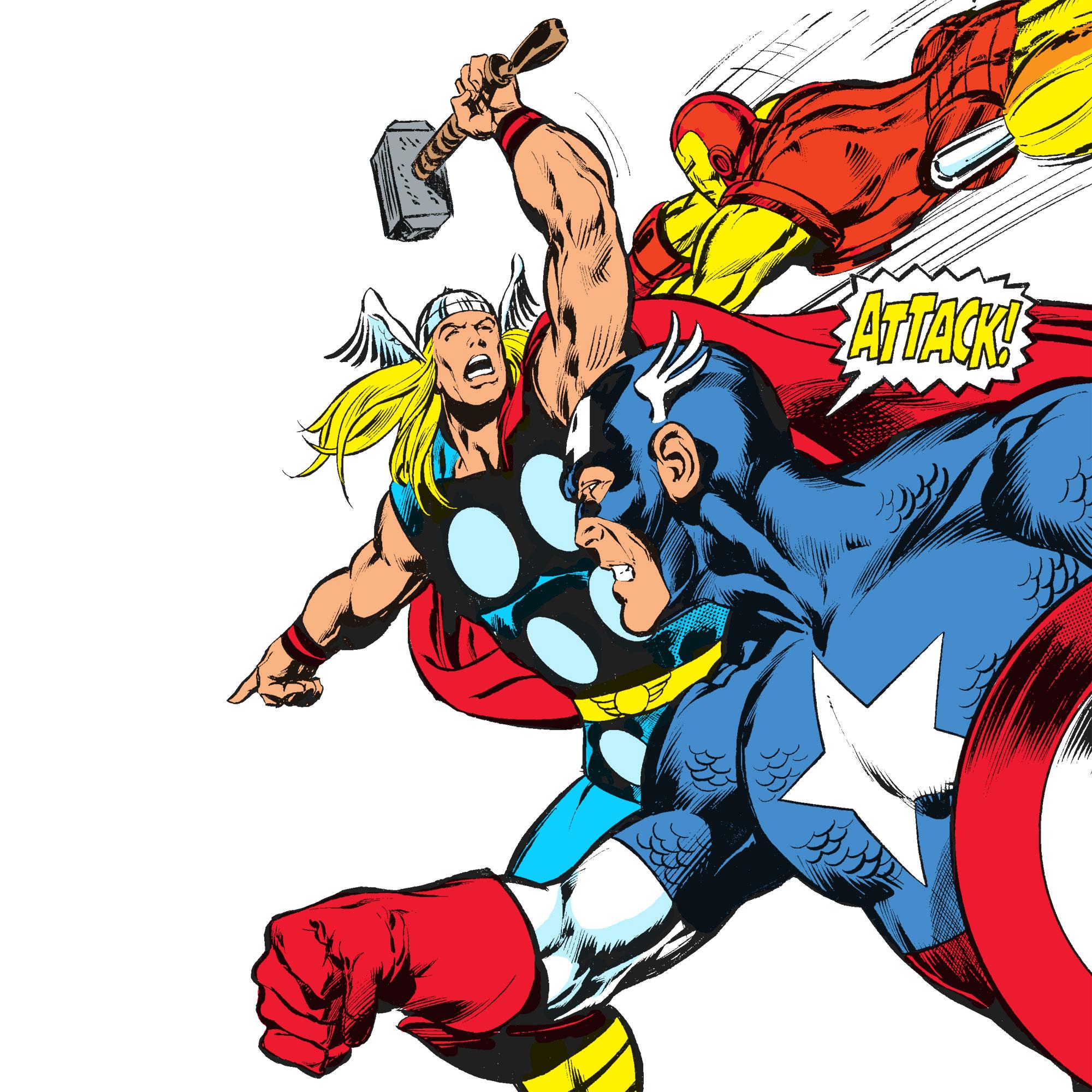Avengers Assemble! - May 12 – Oct 7, 2012