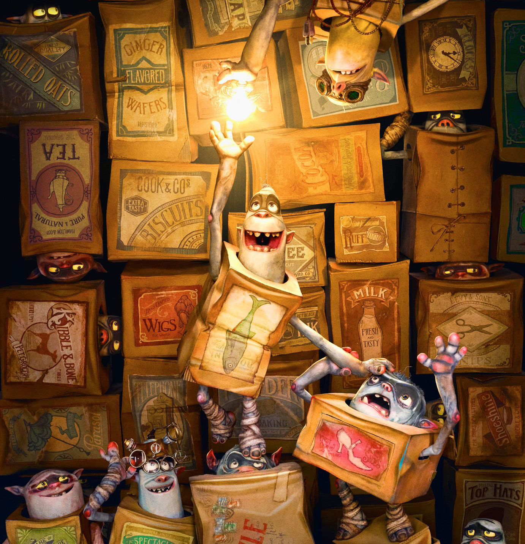 The Art of The Boxtrolls - Sep 26, 2014 – Feb 1, 2015