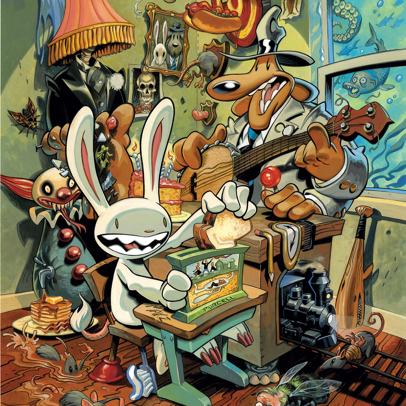 Sam & Max, Swift and Mirthful Justice: The Art of Steve Purcell - Nov 2, 2013 – Apr 19, 2014