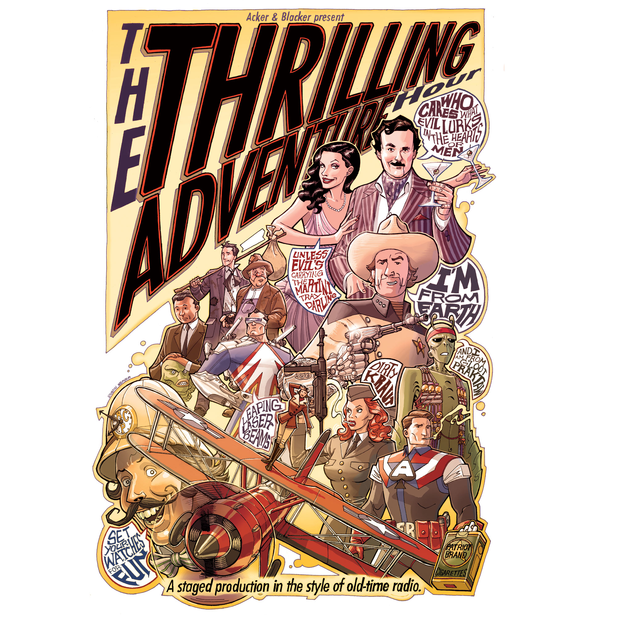 The Thrilling Adventure Graphic Novel - Jun 29 – Oct 20, 2013