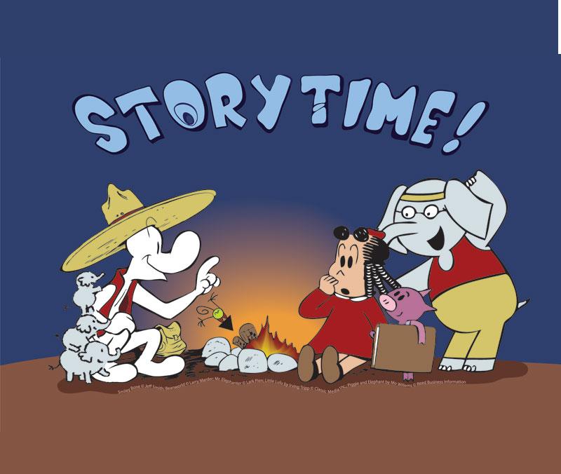 Storytime! Graphic Novels for Kids of All Ages - Jun 26 – Nov 28, 2010
