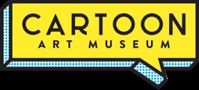 Cartoon Art Museum logo, 286x130 pixels (.PNG)
