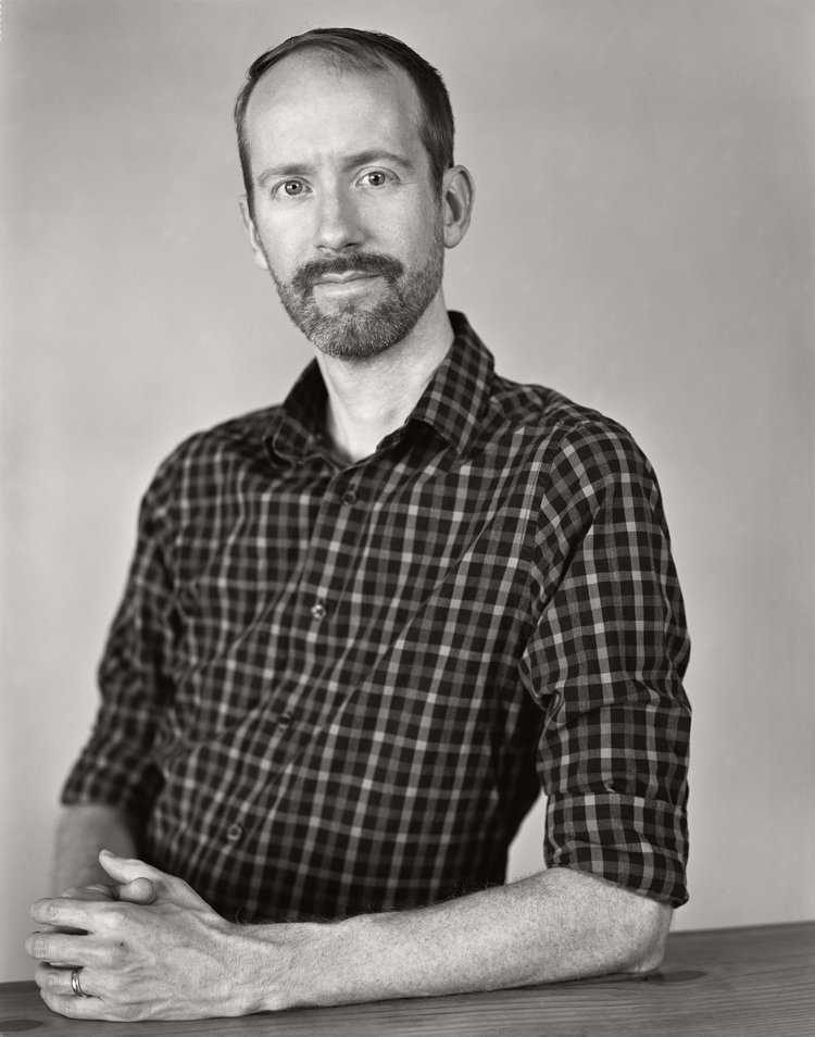 Nate Powell, photograph by Ben Rains