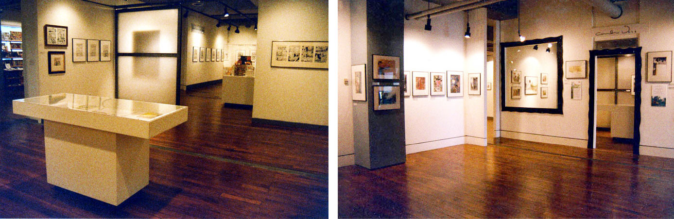 The second-floor galleries at 814 Mission Street
