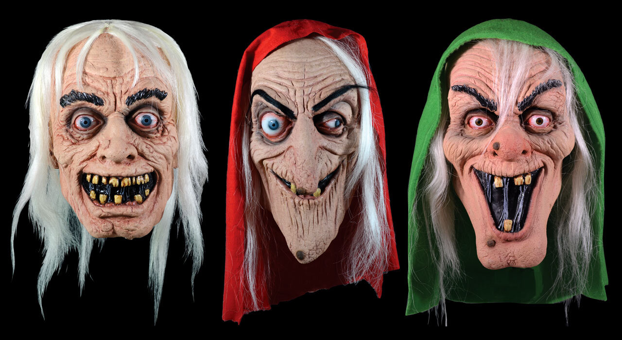 EC Comics masks by Trick or Treat Studios. Images are property of William M Gaines Agent, Inc. © 2019